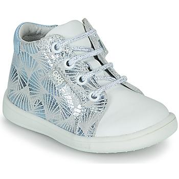 Zapatos Niña Zapatillas altas GBB FAMIA Blanco / Azul