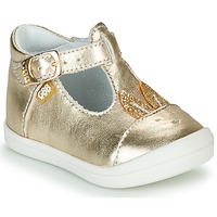 Zapatos Niña Bailarinas-manoletinas GBB ANINA Oro