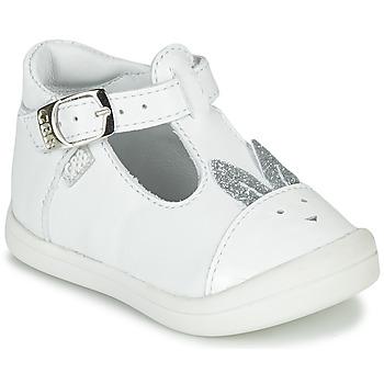 Zapatos Niña Bailarinas-manoletinas GBB ANINA Blanco
