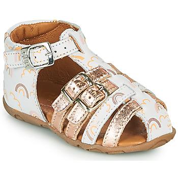 Zapatos Niña Sandalias GBB RIVIERA Blanco