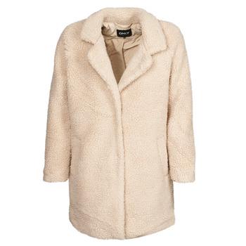 textil Mujer Abrigos Only ONLAURELIA Beige