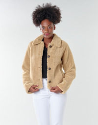 textil Mujer cazadoras Only ONLEMILY Crema