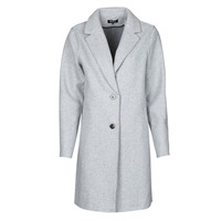textil Mujer Abrigos Only ONLCARRIE BONDED Gris