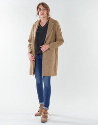 textil Mujer Abrigos Only ONLCARRIE BONDED Camel