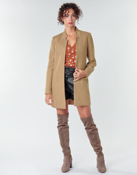 textil Mujer Abrigos Only ONLSOHO Camel