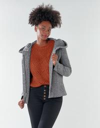 textil Mujer Abrigos Only ONLNEWSEDONA Gris