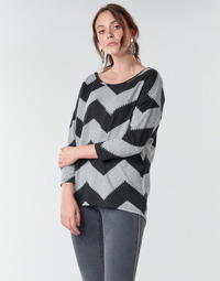 textil Mujer Tops / Blusas Only ONLELCOS Gris / Negro