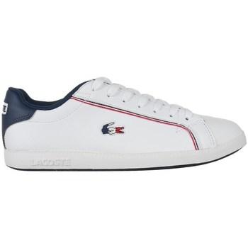 Zapatos Hombre Zapatillas bajas Lacoste Graduate 119 3 Sma Blanco,Azul marino