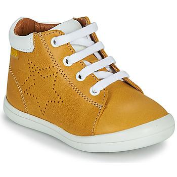 Zapatos Niño Zapatillas altas GBB BAMBOU Amarillo