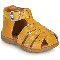 Zapatos Niño Sandalias GBB ARIGO Amarillo