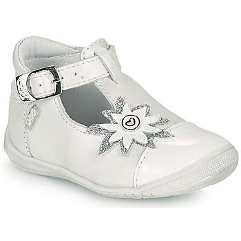 Zapatos Niña Bailarinas-manoletinas GBB EFIRA Blanco