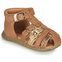 Zapatos Niña Sandalias GBB PERLE Marrón