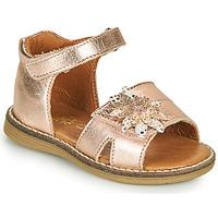 Zapatos Niña Sandalias GBB SATIA Rosa / Gold