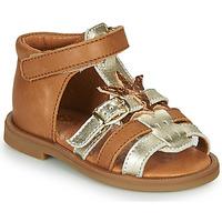 Zapatos Niña Sandalias GBB CARETTE Marrón