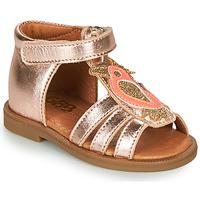 Zapatos Niña Sandalias GBB FRANIA Rosa / Gold