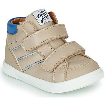 Zapatos Niño Zapatillas altas GBB MORISO Beige