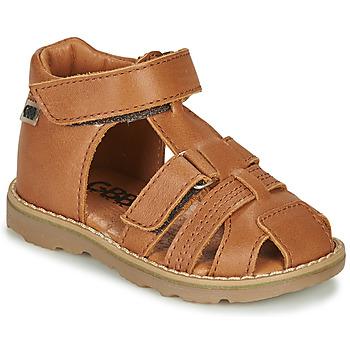 Zapatos Niño Sandalias GBB MITRI Marrón