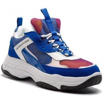 Zapatos Mujer Zapatillas bajas Calvin Klein Jeans Zapatillas Maya Blue Rose blan Blue
