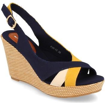 Zapatos Mujer Sandalias Festissimo F20-12 Amarillo