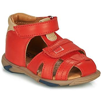 Zapatos Niño Sandalias GBB NUVIO Rojo