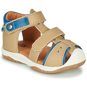 Zapatos Niño Sandalias GBB EUZAK Beige