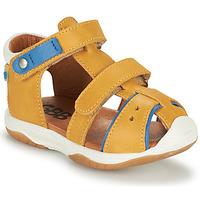 Zapatos Niño Sandalias GBB EUZAK Amarillo