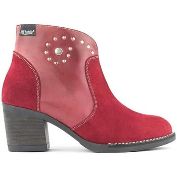 Zapatos Mujer Botines Oh!! Isabella Spiral Red Boots 8