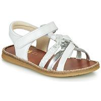 Zapatos Niña Sandalias GBB SUMY Blanco / Plata