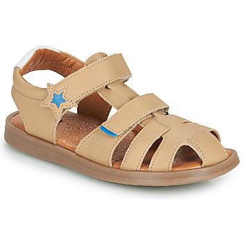 Zapatos Niño Sandalias GBB MARINO Beige