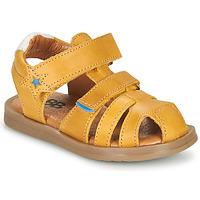 Zapatos Niño Sandalias GBB MARINO Amarillo