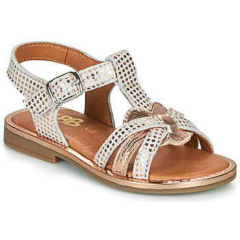 Zapatos Niña Sandalias GBB EGEA Blanco / Rosa / Gold