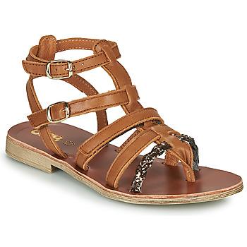 Zapatos Niña Sandalias GBB NOVARA Marrón