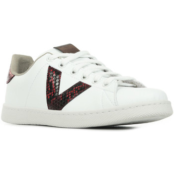 Zapatos Mujer Zapatillas bajas Victoria Tenis Serpiente Blanco