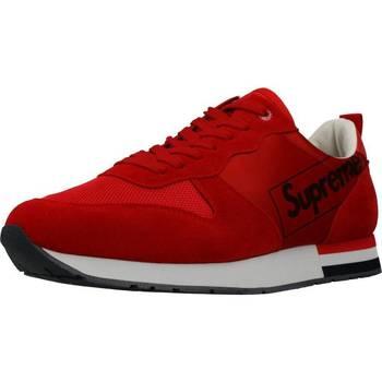 Zapatos Hombre Zapatillas bajas Supreme 027001 Rojo