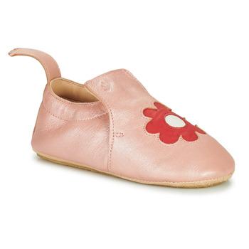 Zapatos Niños Pantuflas Easy Peasy BLUBLU FLEURS Rosa
