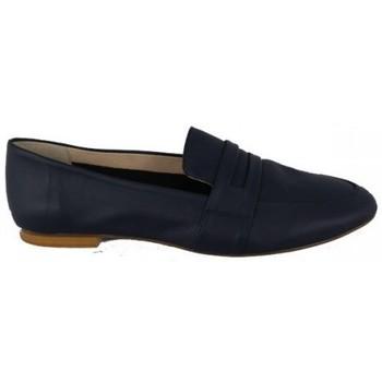 Zapatos Mujer Mocasín Lolas ZAPATO MOCASIN DE  CON ANTIFAZ MODELO ASILAH Azul
