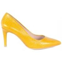 Zapatos Mujer Zapatos de tacón Lolas STILETTO  PIEL GRABADA Amarillo