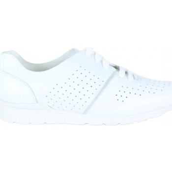 Zapatos Mujer Zapatillas bajas Lolas ZAPATO TIEMPO LIBRE CON PICADOS Blanco