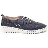 Zapatos Mujer Derbie Top3 ZAPATO PISO FLEX COSIDO DE Azul