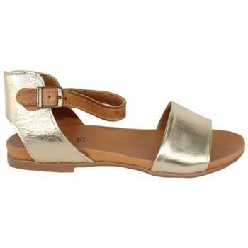 Zapatos Mujer Sandalias Top3 SANDALIA CON PILSERA COMBINADA Oro