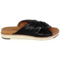Zapatos Mujer Zuecos (Mules) Top3 ZUECO CON TUBULARES Negro