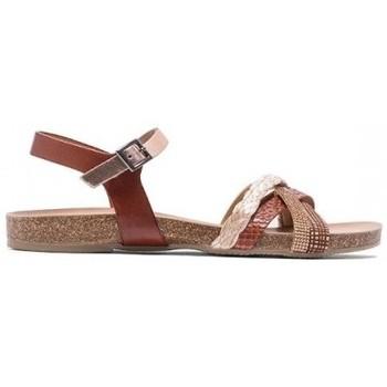 Zapatos Mujer Sandalias Porronet SANDALIA COMBINADA DE  CON PLANTA BIO Multicolor