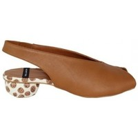 Zapatos Mujer Sandalias Lolas ZAPATO ABIERTO PUNTERA Y TALON CON TACON GEOMETRICO Multicolor