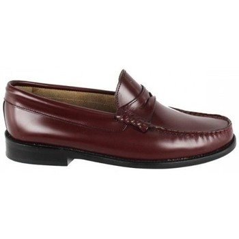 Zapatos Mujer Mocasín Lolas MOCASIN  MODELO GATSBY Rojo