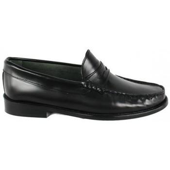 Zapatos Mujer Mocasín Lolas MOCASIN  MODELO GATSBY Negro