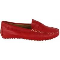 Zapatos Mujer Mocasín Lolas MOCASIN  MODELO GOMMINO Rojo