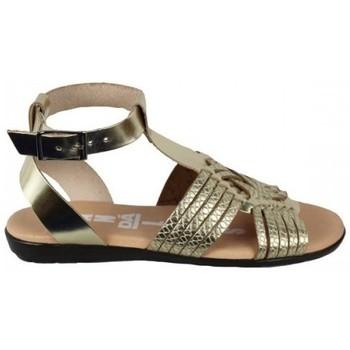 Zapatos Mujer Sandalias Dada SANDALIA CON TIRAS CRUZADAS PLANTA GEL Oro