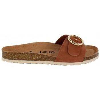 Zapatos Mujer Zuecos (Mules) Lolas SANDALIA CON PALA HEBILLA Y PLANTA BIO CONFORT Multicolor