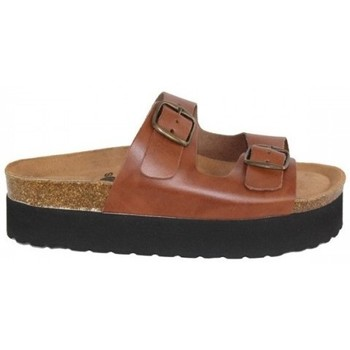 Zapatos Mujer Zuecos (Mules) Lolas SANDALIA PLATAFORMA CON PLANTA BIO CONFORT Multicolor