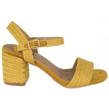Zapatos Mujer Sandalias Dada SANDALIA RAFIA Amarillo